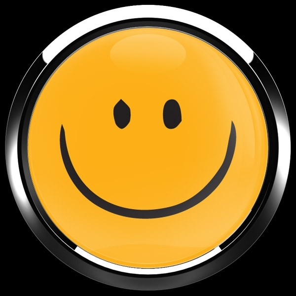 ゴーバッジ(ドーム)(CD1088 - EMOJI SMILE HAND DRAWING 2) - 画像3