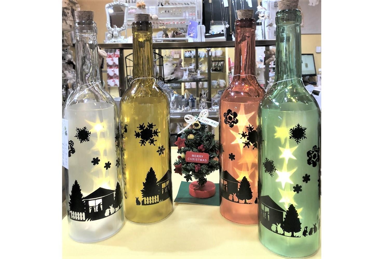 ボトルライトクリスマスHAPPY