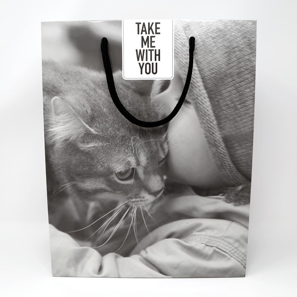 猫紙袋(フィルムコレクションキャット)TAKE ME WITH YOU