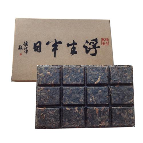 ユウラク(Youle)古樹プーアル熟茶 《ショコラ型》 100g入 パーフェクトを意味する【12】