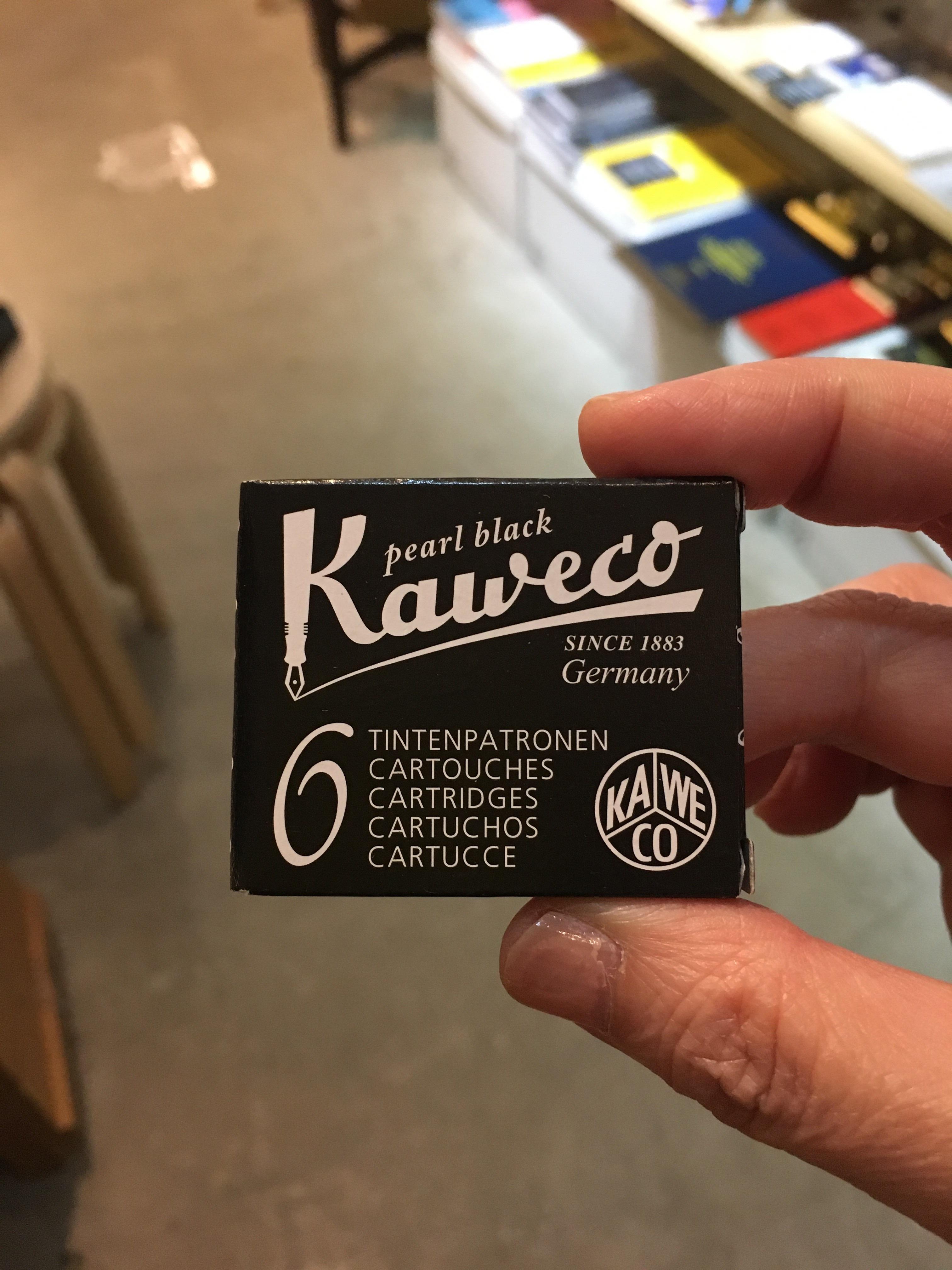 Kaweco純正インクカートリッジ(6本入)