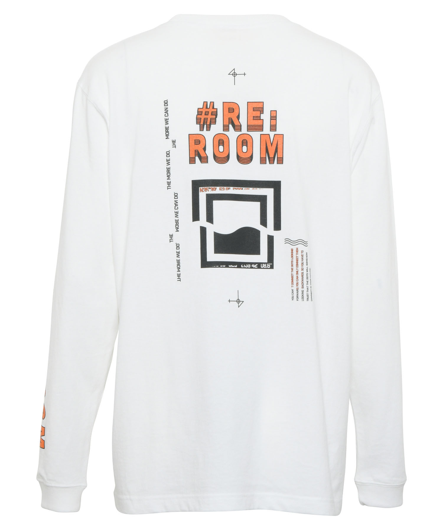 DIRECTION BACK PRINT LONG SLEEVE[REC416]