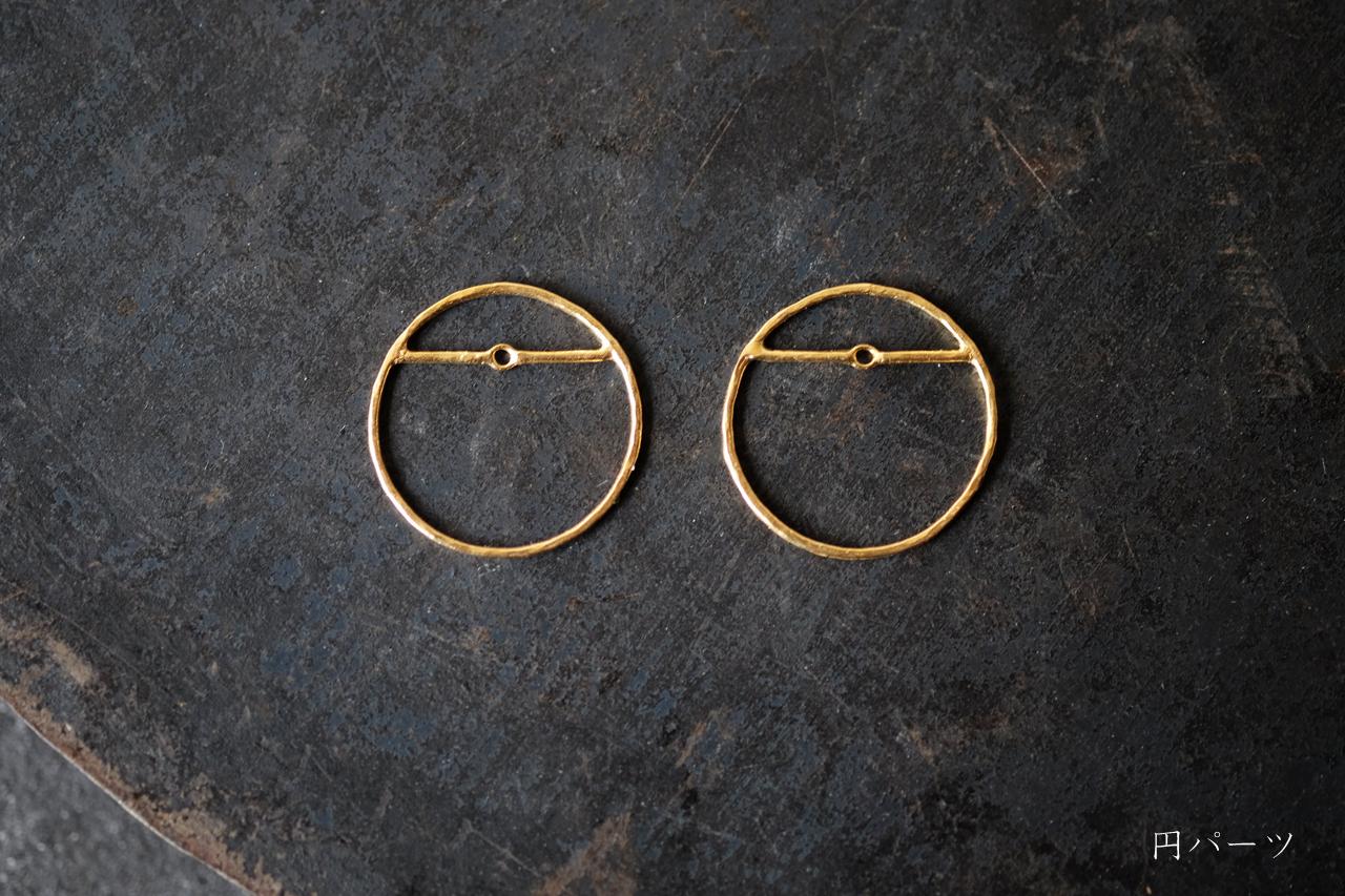 古墳の円パーツ (gold)