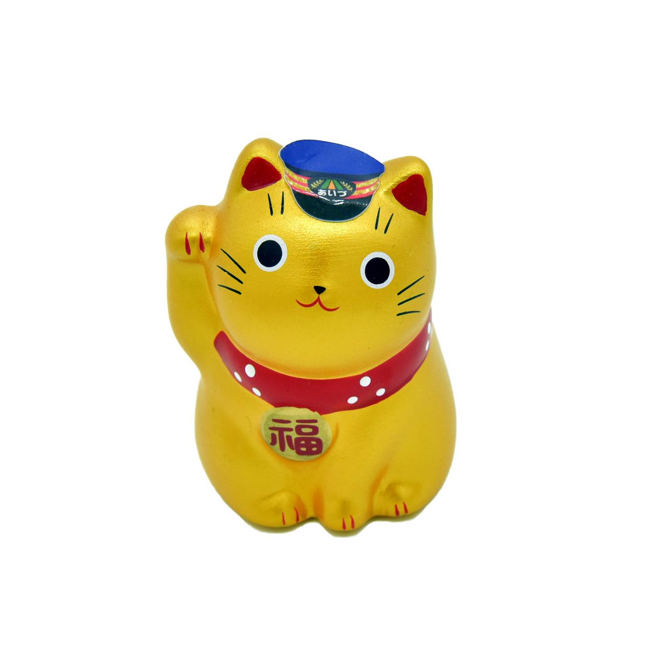 まねき猫駅長【金】