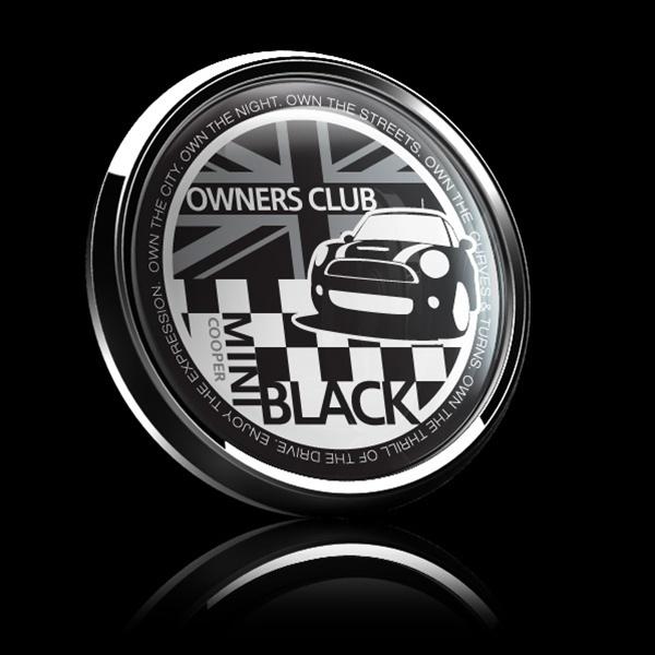 ゴーバッジ(ドーム)(CD0376 - MINI OWNERSCLUB BLACK) - 画像2