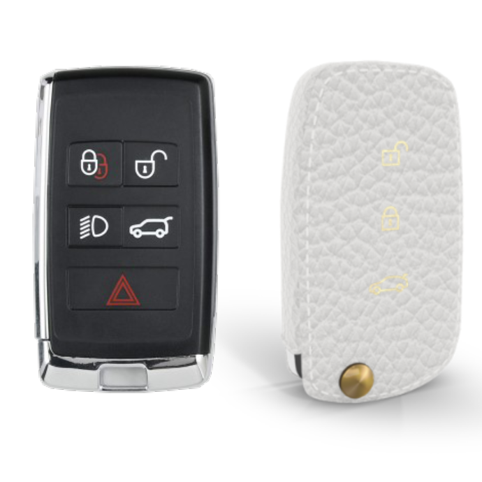 Land Rover 専用 TypeC Car Key Case Shrink Leather Case