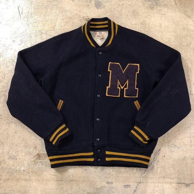 Felco Vtg Lettered Varsity Jacket
