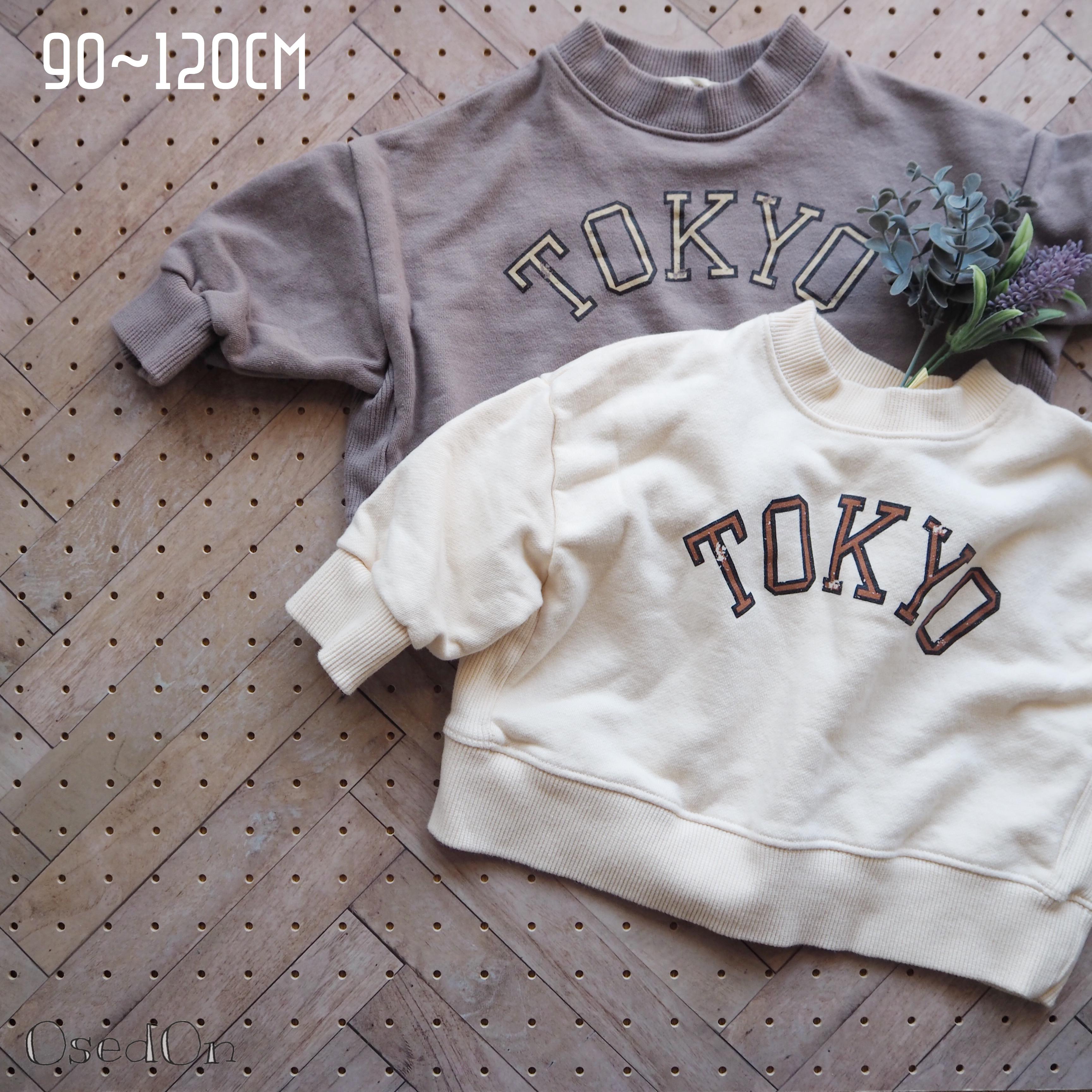 TOKYOロゴ ビンテージ風スウェット