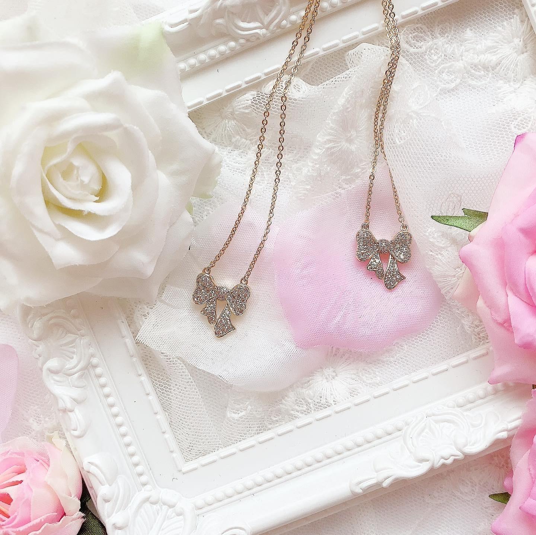 【再販/1点限定】petit ribbon♡ネックレス