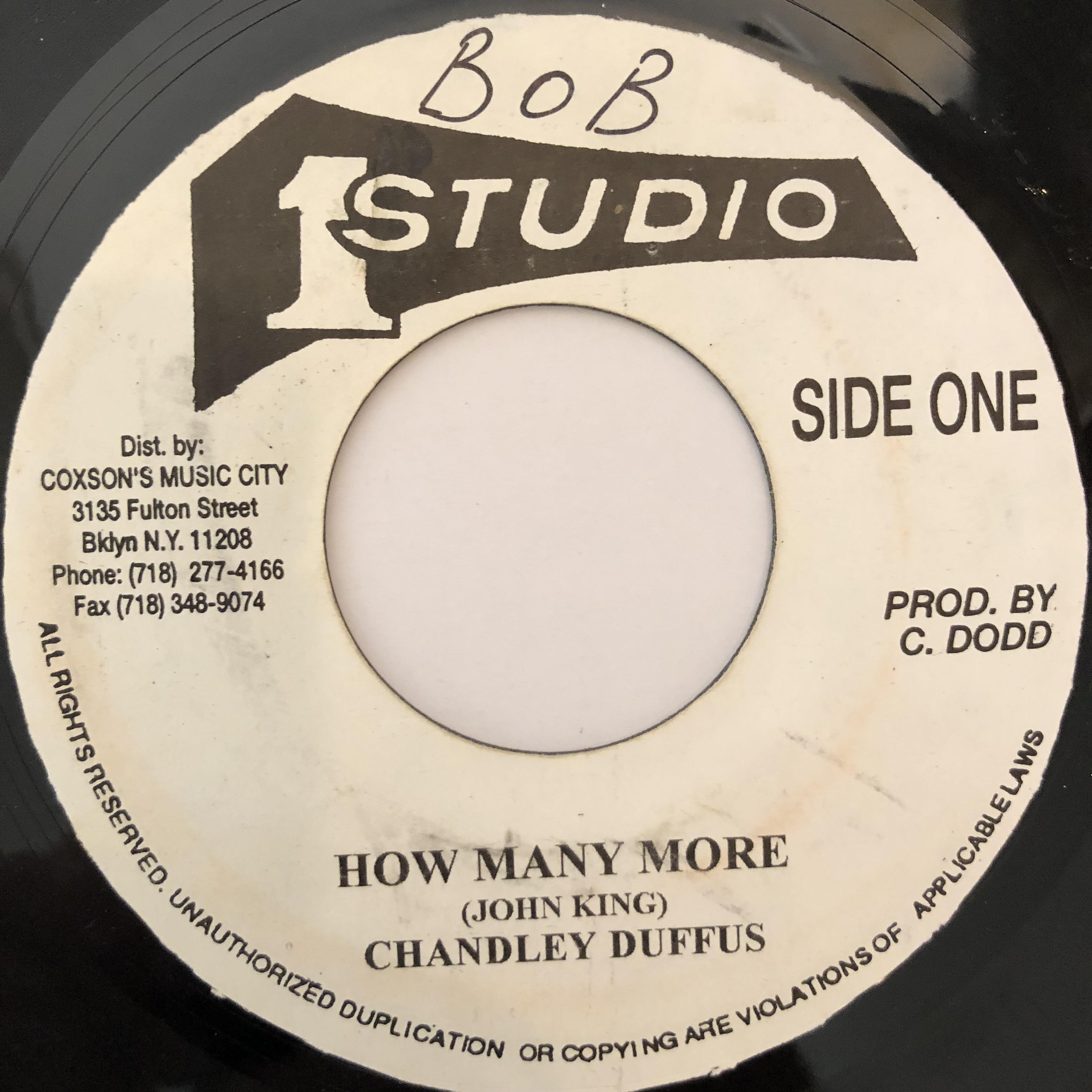 Chandley Duffus(チャンデリーディファス) - How Many More【7-20244】