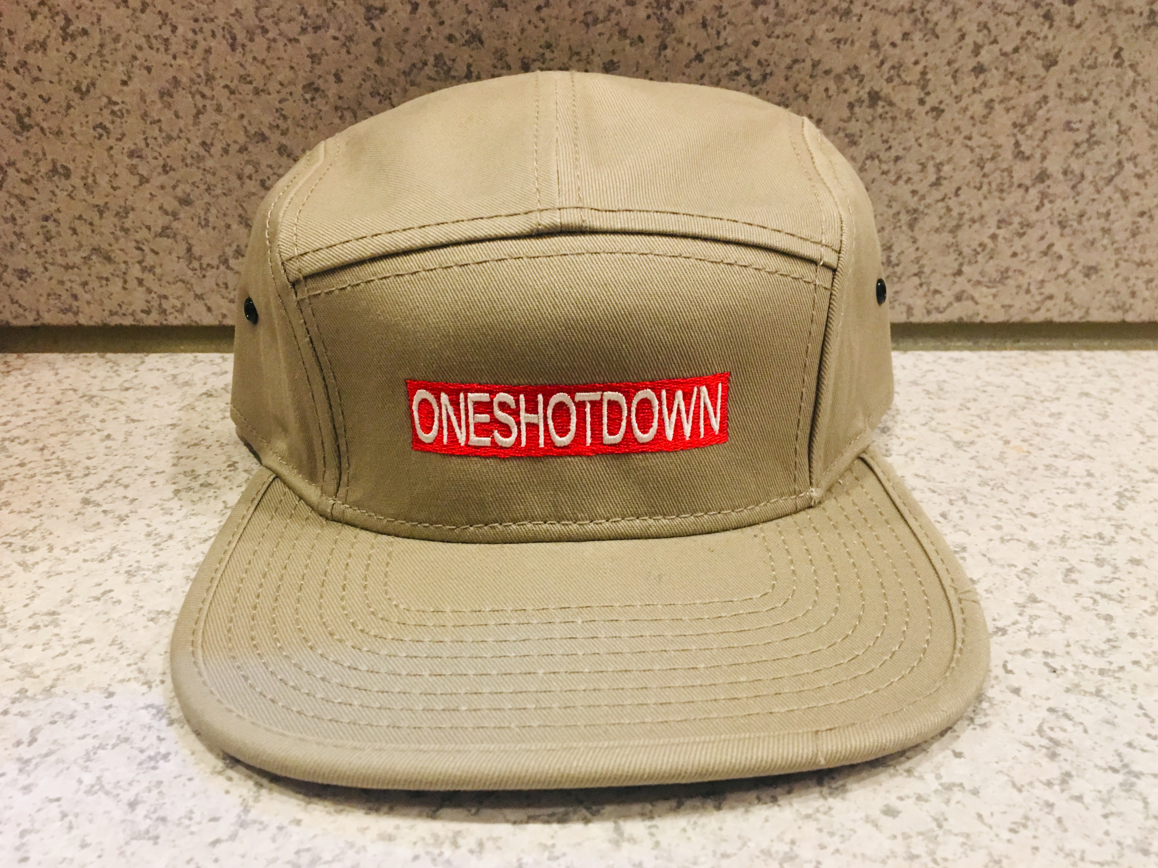 ONESHOTDOWN キャンプCAP - 画像2