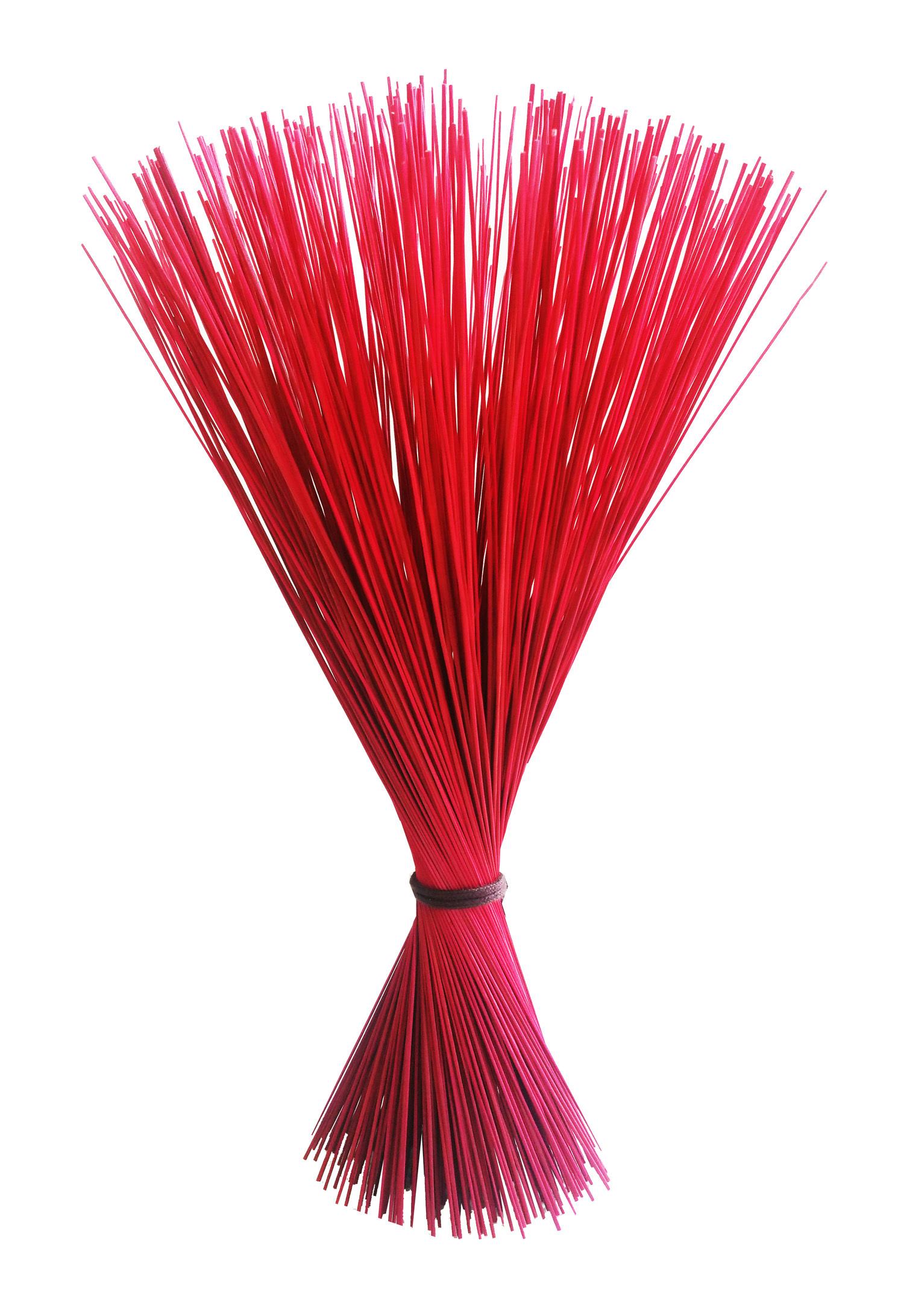 【イ草フラワー レッド】Rush Grass Flower RED 35cm