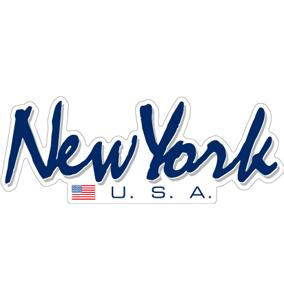 """058 Newyorker向けです。""""California Market Center"""" アメリカンステッカー スーツケース シール"""