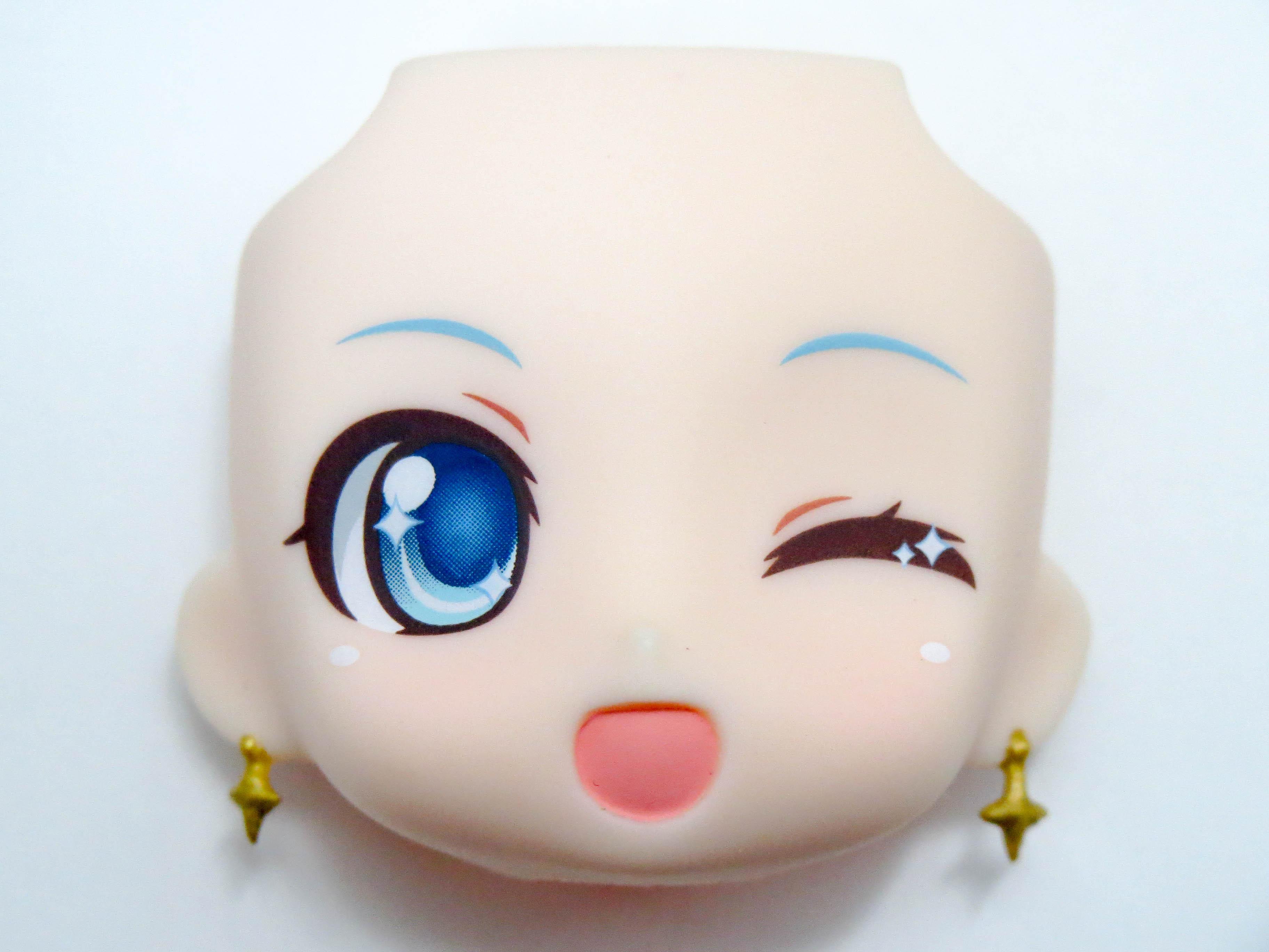 【SALE】【701】 雪ミク Twinkle Snow Ver. 顔パーツ ウインク顔 ねんどろいど