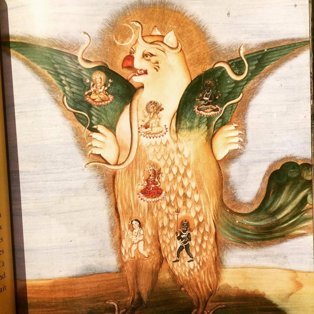 モンスターや悪魔の画集「La vie secrète des Monstres」 - 画像2