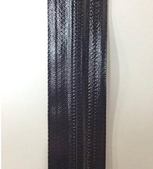 YKK 止水ファスナー アクアガード AQUARD  3C (3CNT8) つやあり 黒 チェーン 10m