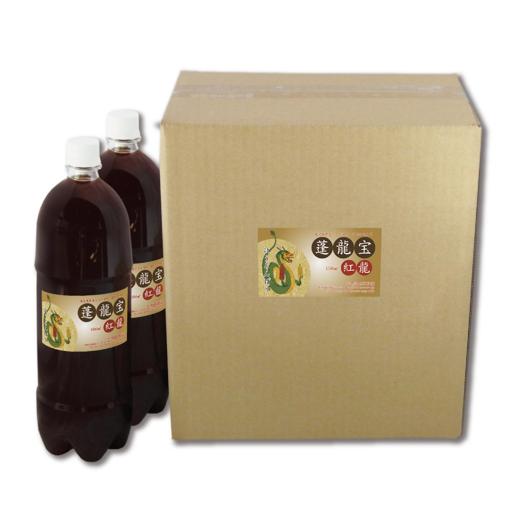蓬乳酸菌液ホウロンポウ 1.5 liter6本箱入り