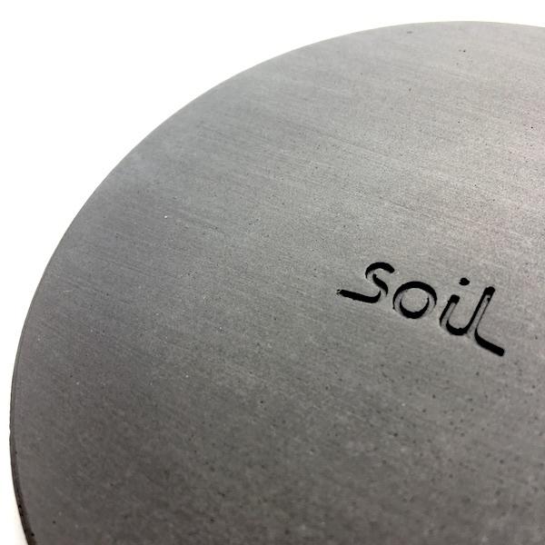soil コースター  large circle 2個セット