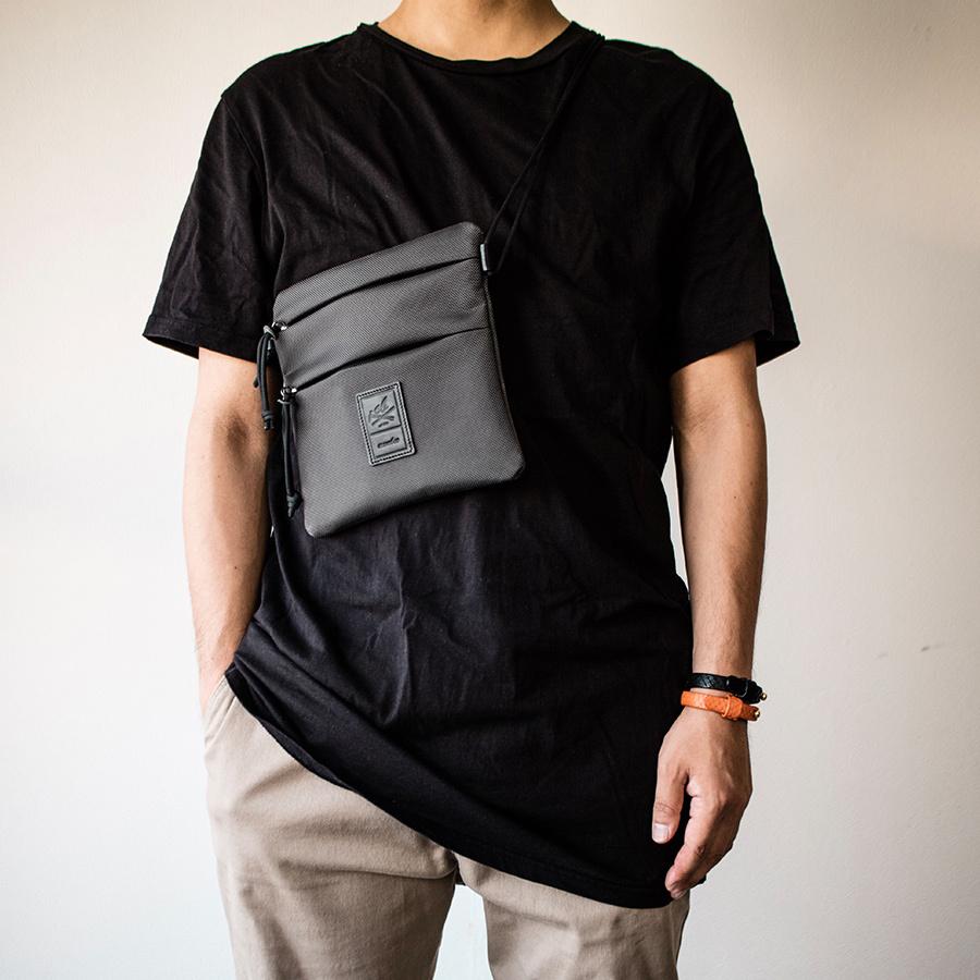 サコッシュ ショルダーバッグ 軽量強度生地 Sacoche Shoulder Bag
