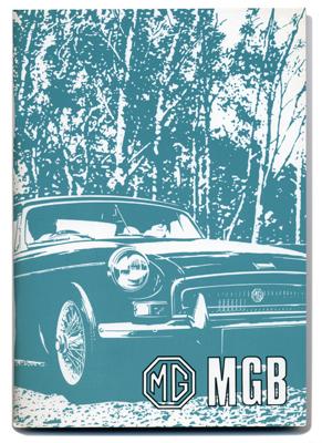 MGB ツアラー & GT・オーナーズ・ハンドブック・(UK)