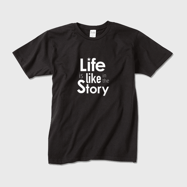 Life is like in the story~人生は物語のようだ(黒×白)~【メンズ】