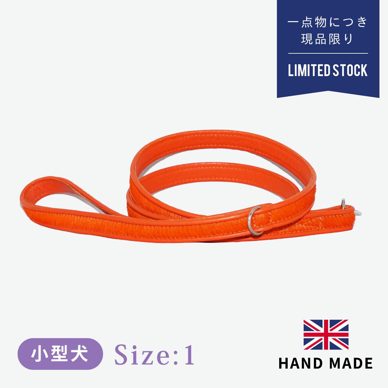 ホリー&リル ブライトサイド オレンジ リード 幅:1.5cm