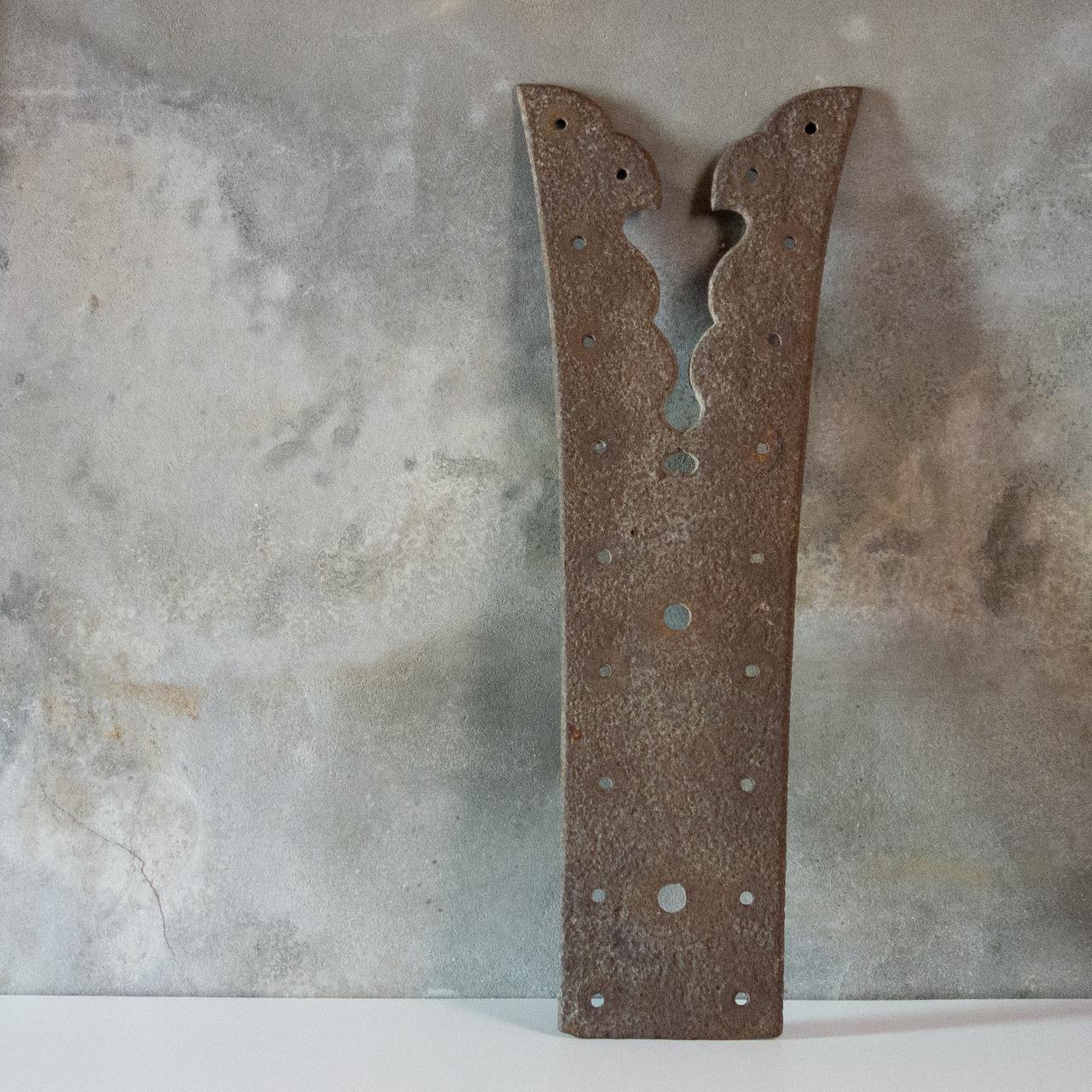 蔵戸の鉄飾り