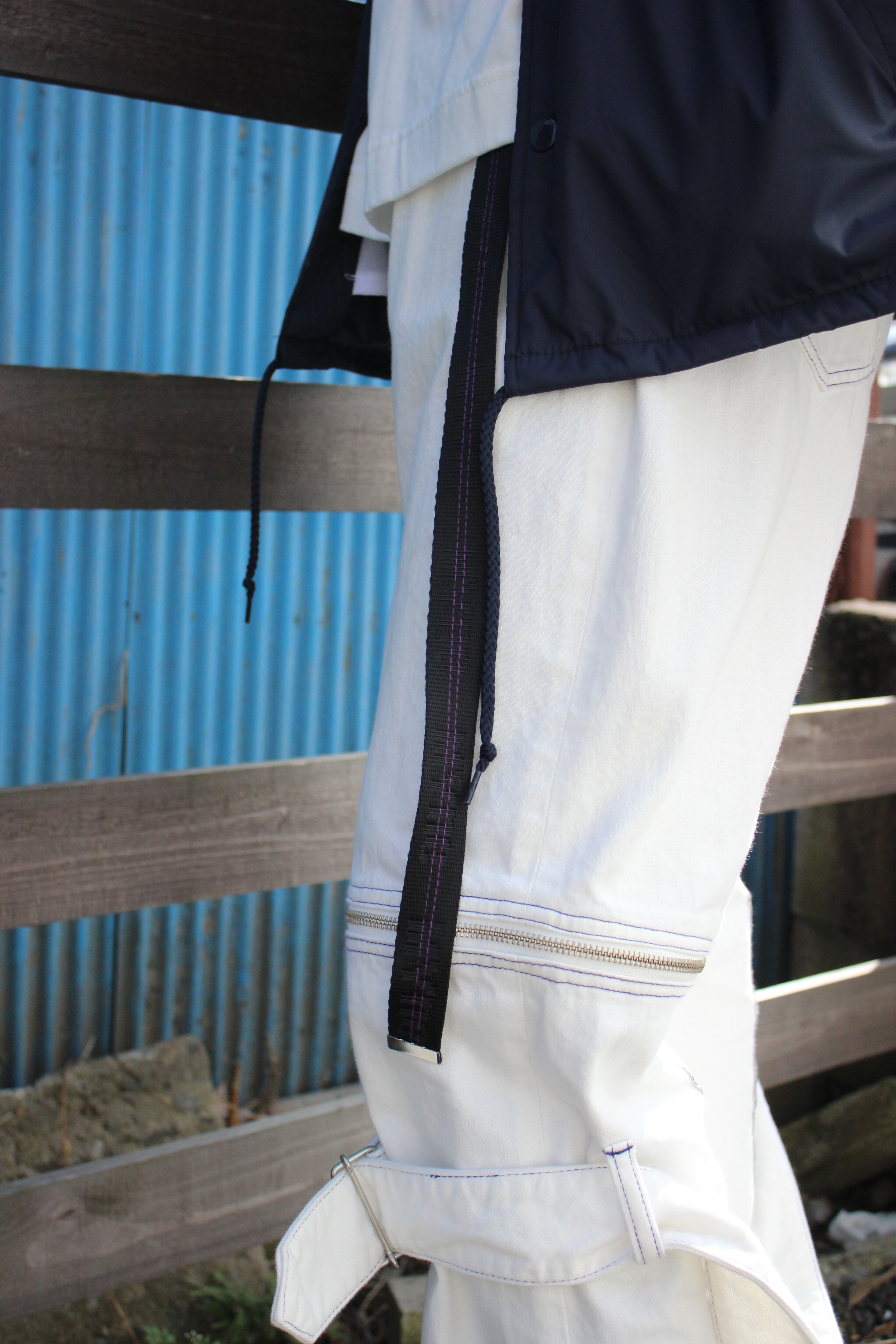MYne jacquard belt / BLACK - 画像2
