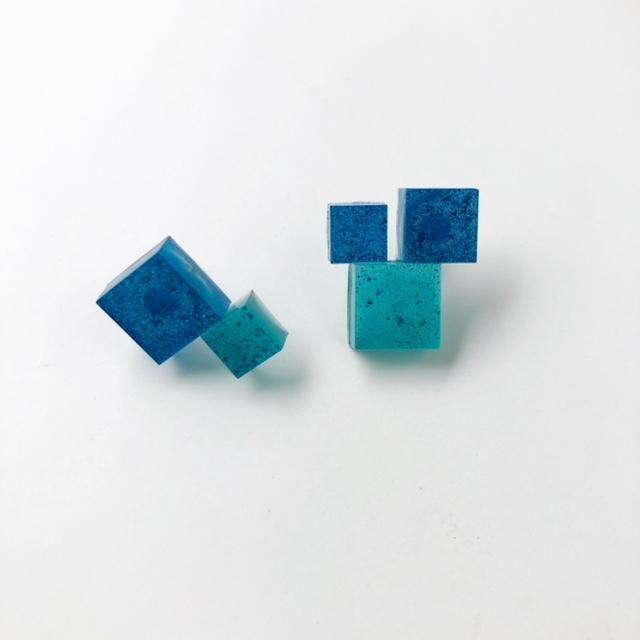 """N7enunana """"mosaic"""" ピアス"""