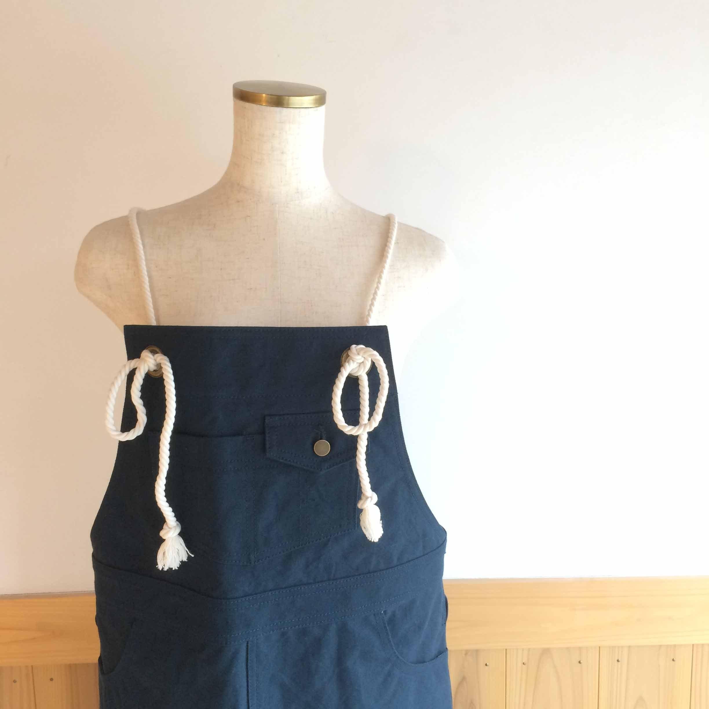 帆布ジャンパースカート NV
