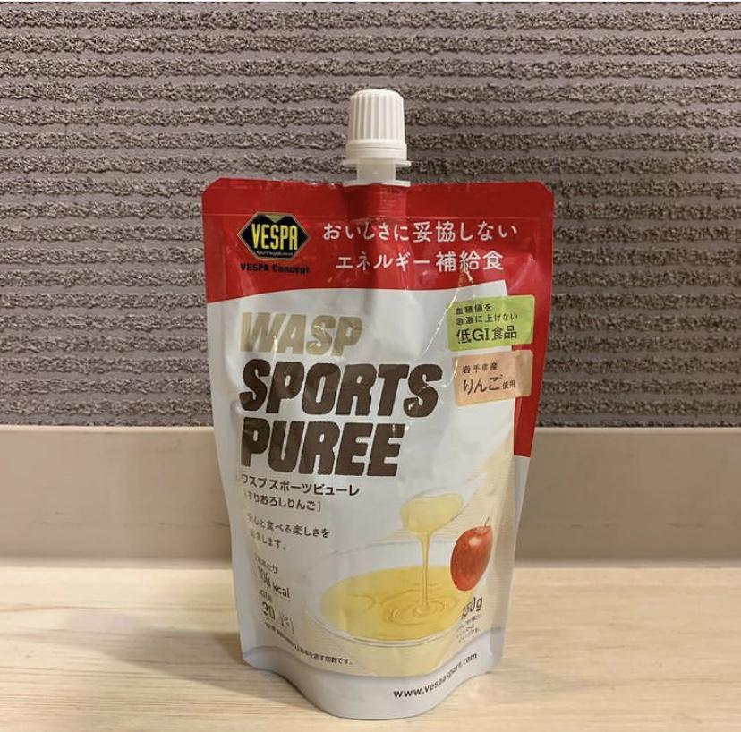 WASP SPORTS PUREE 【 すりおろしりんご 】