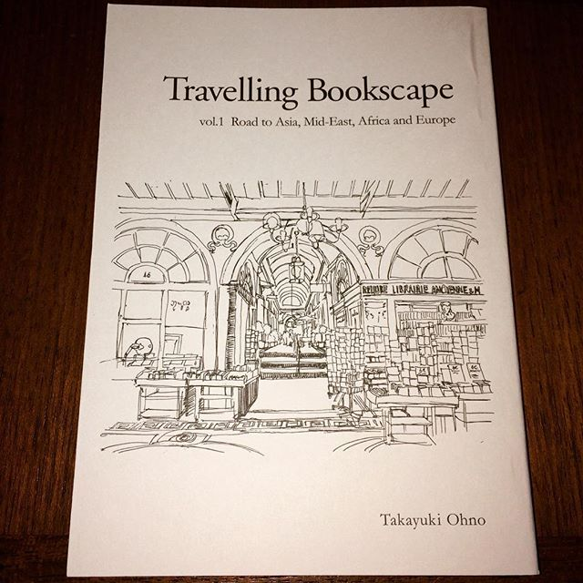 ZINE「Travelling Bookscape vol.1/大野貴之」 - 画像1