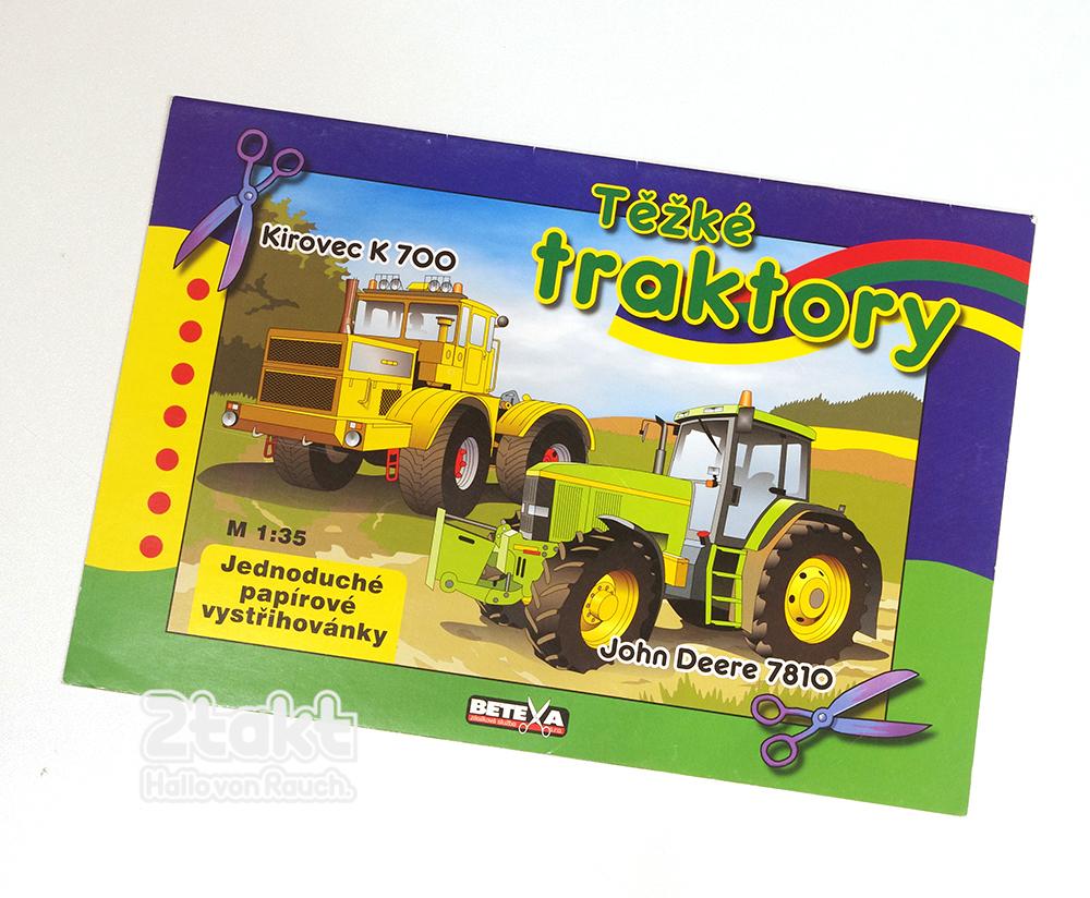 ペーパークラフト トラクター BETEXA  Těžké traktory