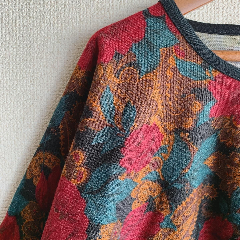 【SALE】vintage design dolman tops