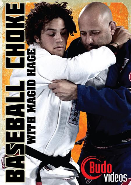 日本語吹き替え付き ベースボール・チョーク マジッド・ヘイジ|ブラジリアン柔術教則DVD