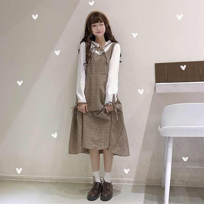 【dress】レトロ気質よいチェック柄デートワンピ16448363
