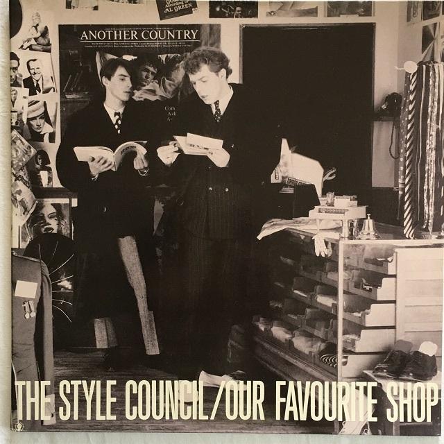 【LP・蘭盤】The Style Council / Our Favourite Shop