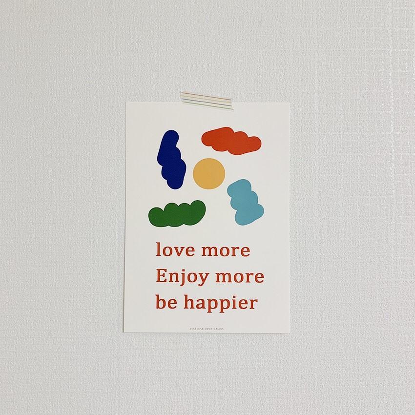 [OP-28] ポスター(be happier)