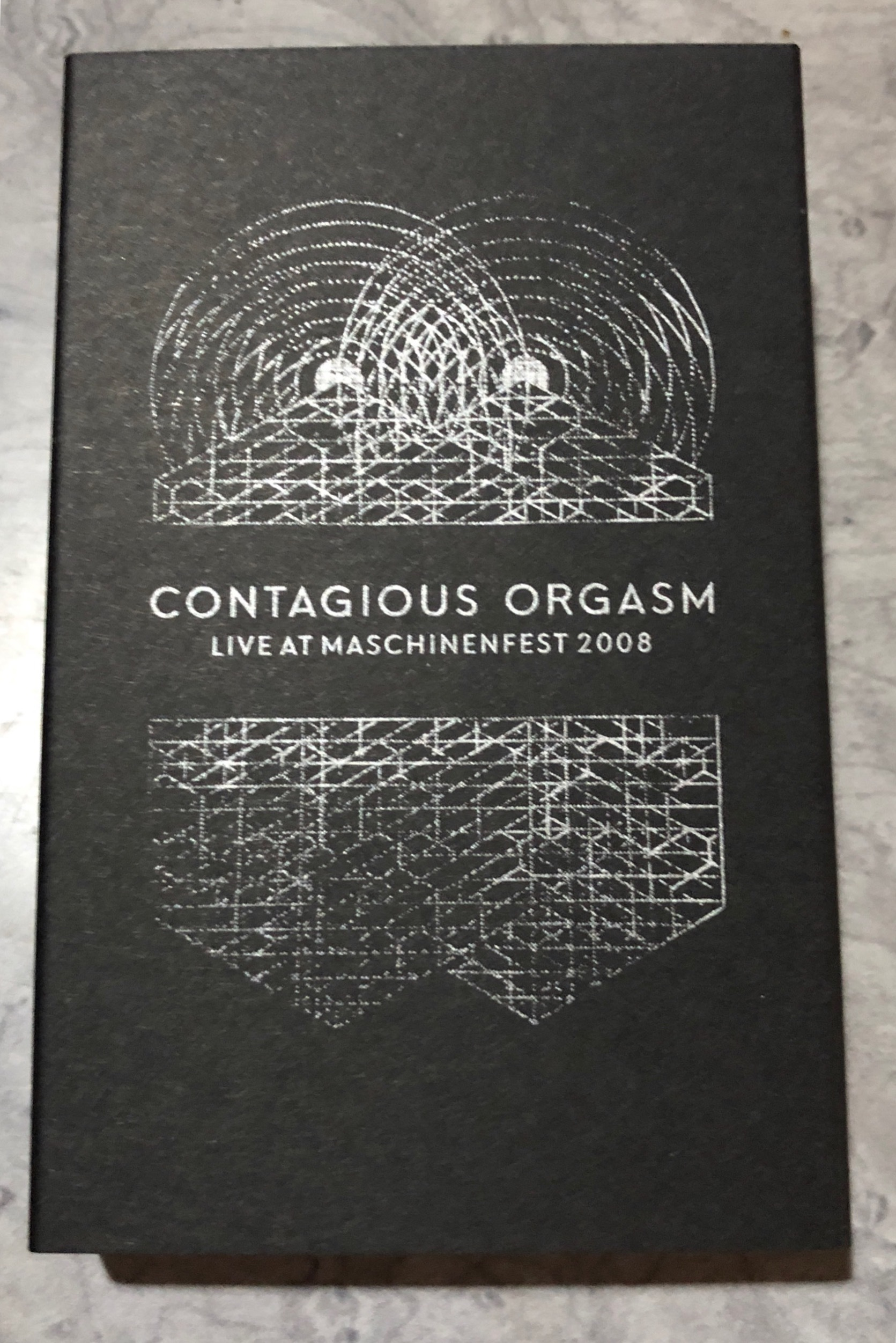 contagious orgasm - live at maschinenfest 2008. tape. - 画像2