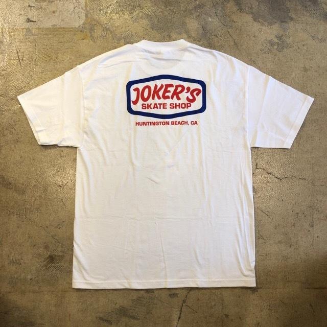 JOKER'S SKATE SHOP #Logo S/S Tee