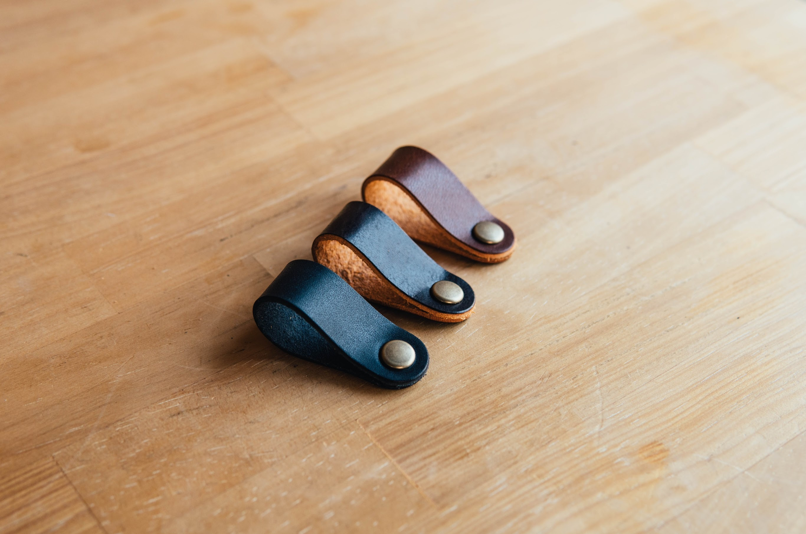 Aging Leather Clip[5 piece]