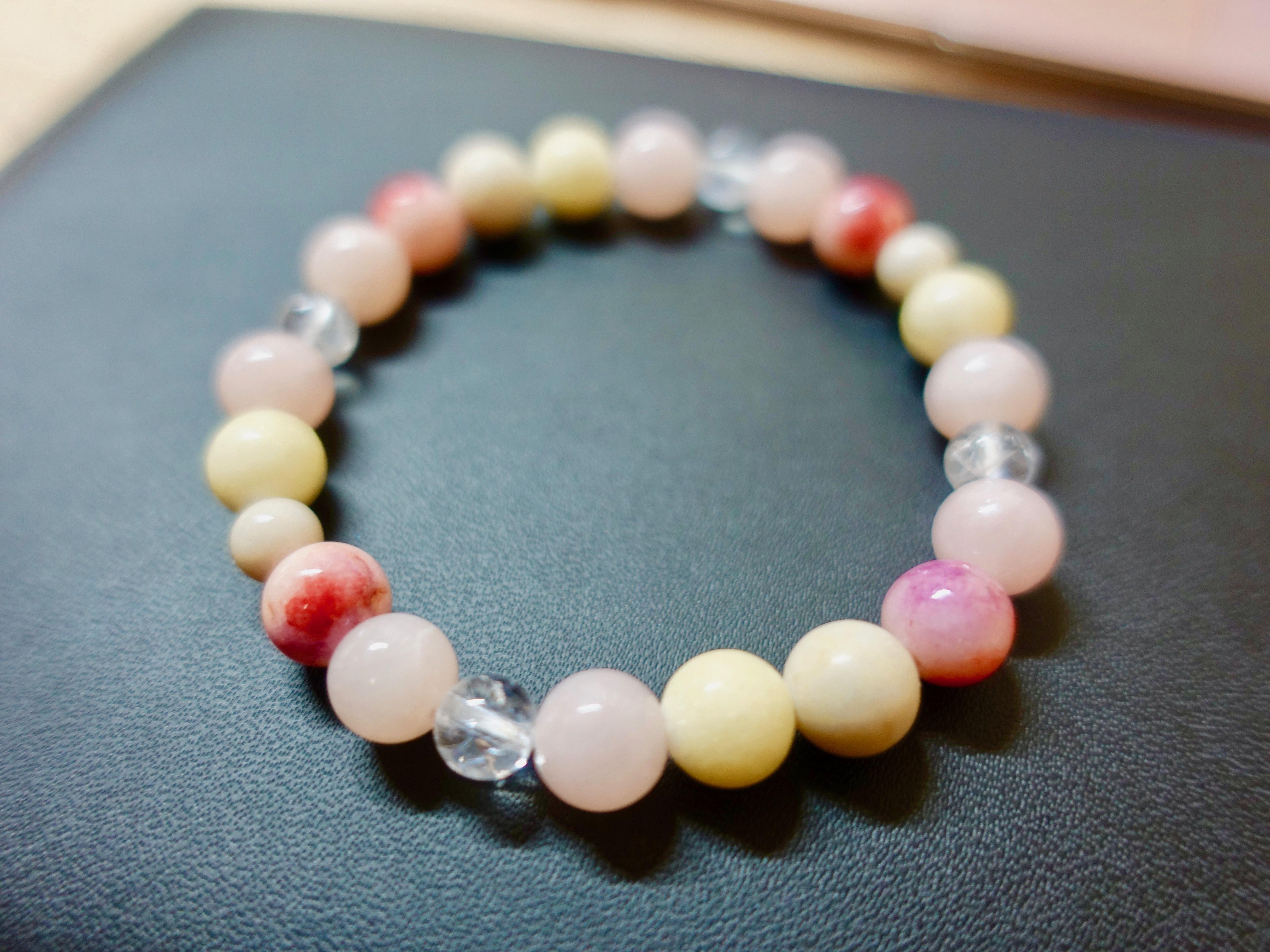 桜梅桃李  〜あなたの魅力を引き出してくれる天然石ブレスレット〜 パワーストーン