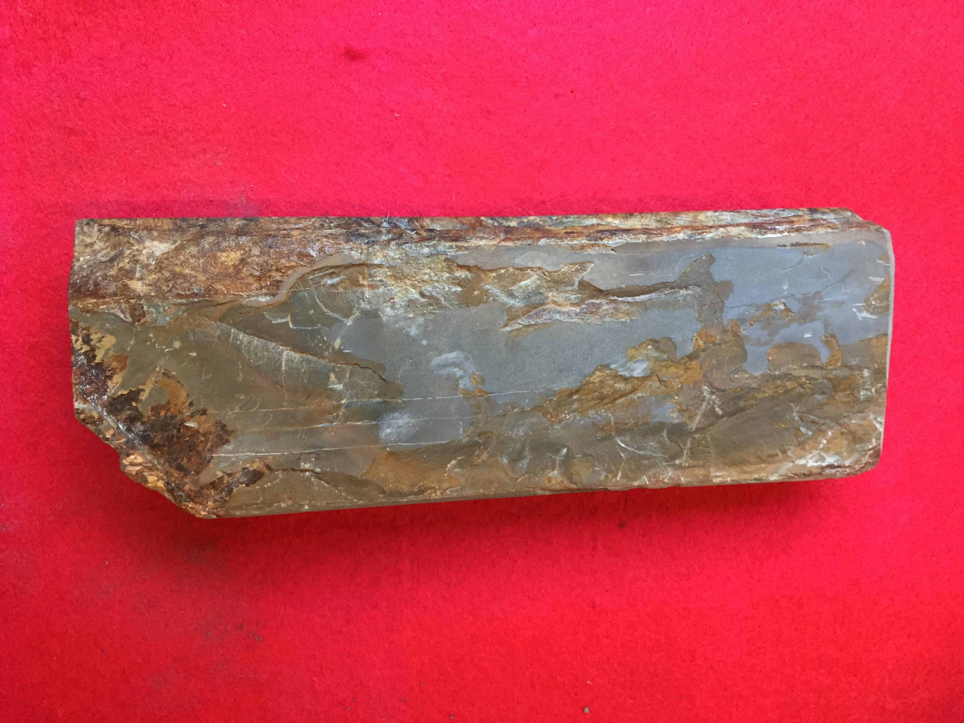 天然砥石(からす)
