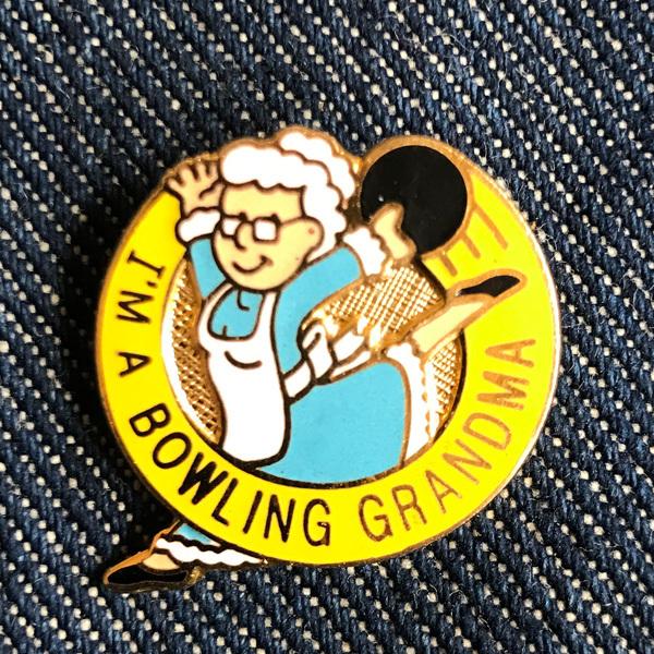 Bowling Grandma Pin