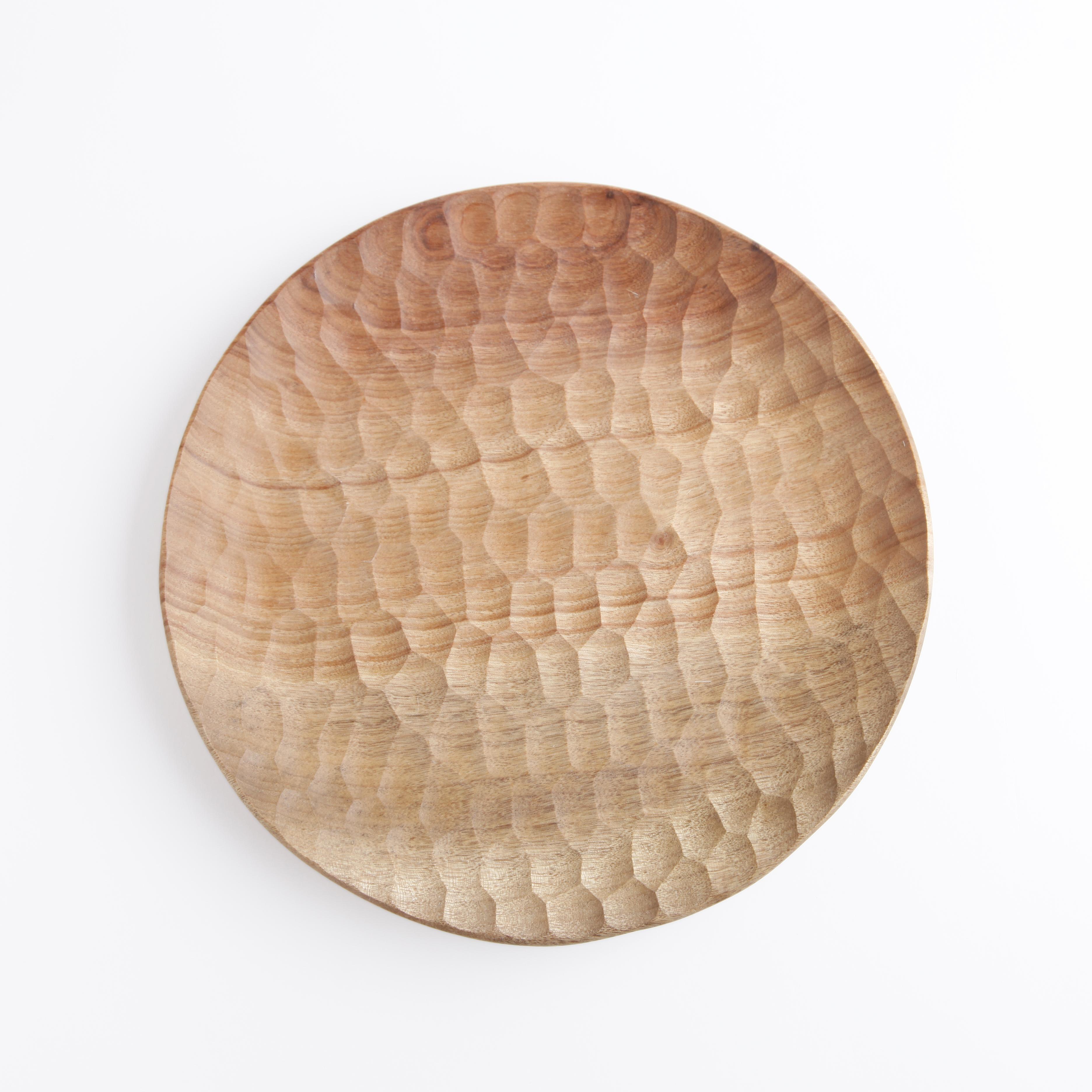 Jin Akihiro/Wooden Plate 27cm