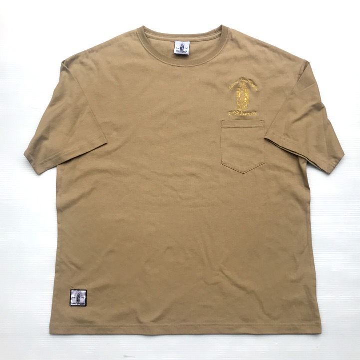 VOLUME ORIGINAL / BIG SILHOUETTE POCKET Tee