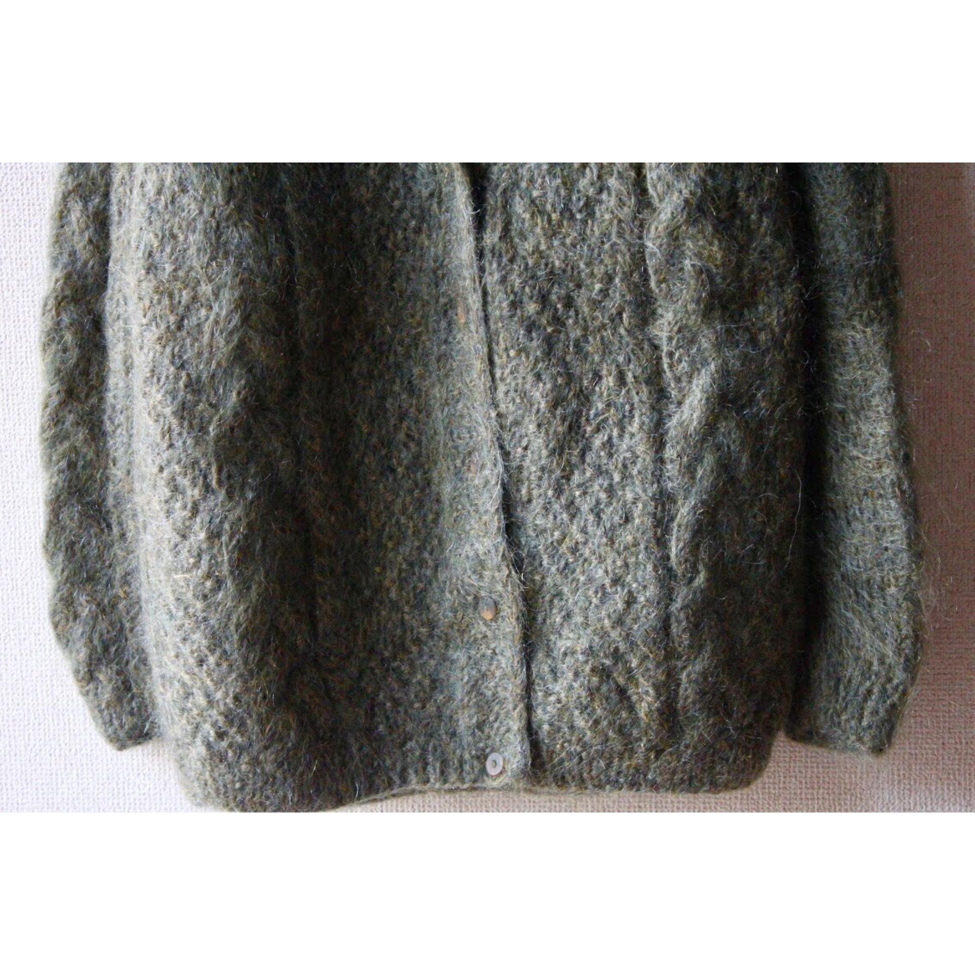 Vintage hand knit cardigan