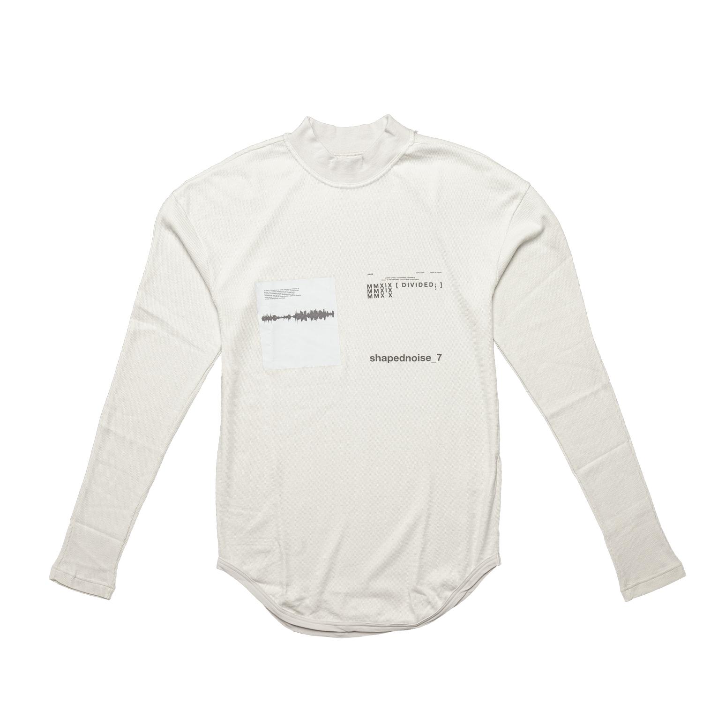 677CPM13-PLASTER / Shapednoise スキニーロングスリーブ Tシャツ