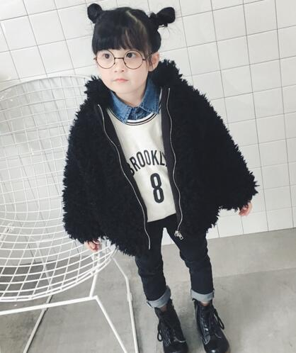 インスタ映え♪プードルファー♡キッズ♡アウター/eb298