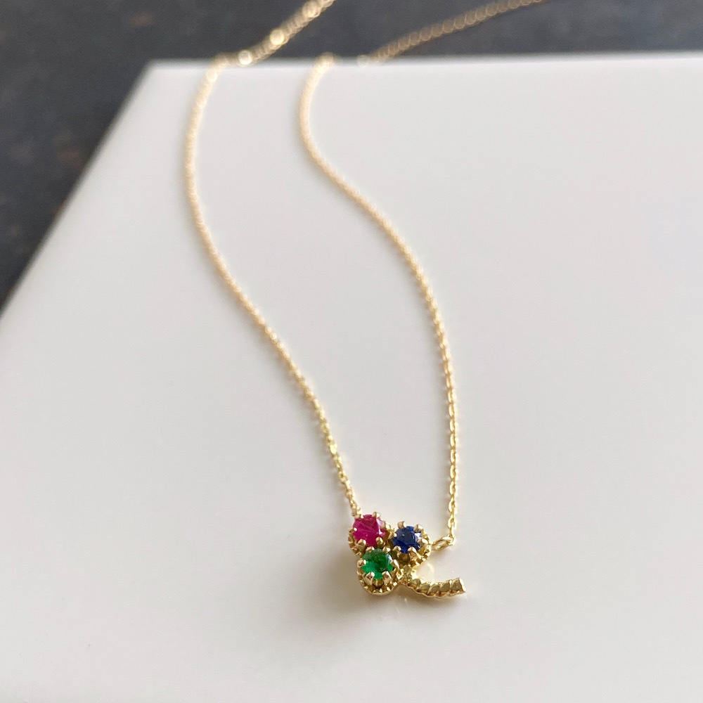 K18 Clover Necklace / K18クローバーネックレス